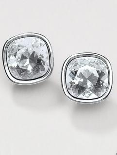 Örhängen kristaller från Uta Raasch silver