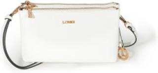 Väska variabel rem från L. Credi vit
