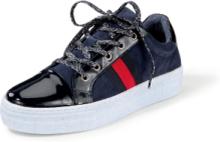 Sneakers ripsbandsränder. från Peter Hahn blå
