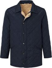 Gewatteerde jas in recht model Van Lodenfrey blauw