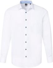 Skjorta i 100% bomull från Pure vit