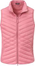 Quiltad dunväst krage från MYBC rosa