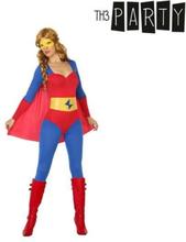 Kostume til voksne Superheltinde M/L