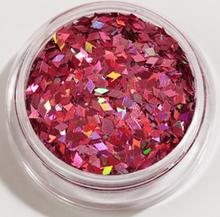 1st Rhombus / Diamonds glitter Ljus rosa