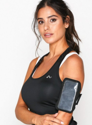 Nike Lean Arm Band Mobilhållare Svart/Silver