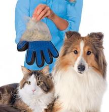 Smart børstehandske (Färg: Blå)