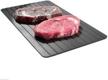 Opptiningsbrikke - Perfekt til å tine kjøtt og fisk (Size: Medium (23*17cm))