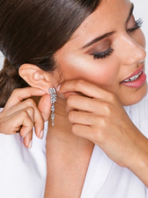 Lily and Rose Petite Laurel Earrings Crystal