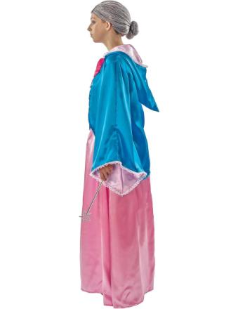 Voksen magisk fe Gudmoder Fancy kjole kostume - Fruugo