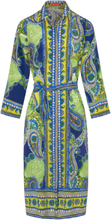 Kleid aus 100% Seide Laura Biagiotti Roma mehrfarbig