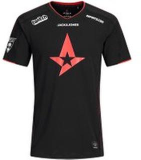JACK & JONES Astralis Officiel E-sport T-shirt Mænd Sort