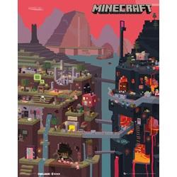 Minecraft World Mini Poster 40x50cm - wupti.com