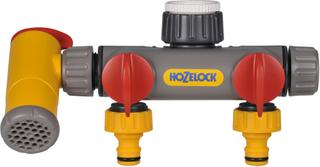 Hozelock Flowmax 3-vägs kranadapter 2250 0000