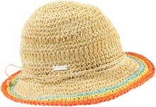Virkad hatt 100% pappersstrå från Seeberger beige