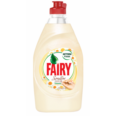 Fairy Sensitive Camomile Dishwashing Liquid 450 ml