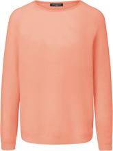Rundhals-Pullover aus Kaschmir und Seide Fadenmeister Berlin orange