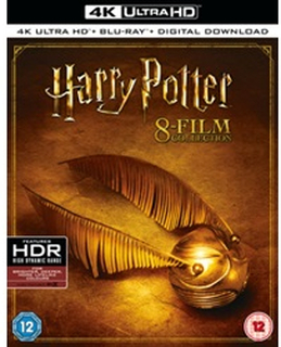 Harry Potter: The Complete 8-film Collection (Blu-ray / 4K Ultra HD + Blu-ray + Digital Download (Box Set)) [UK IMPORT]
