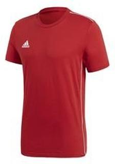 adidas Trenings T-Skjorte Core 18 - Rød/Hvit Barn