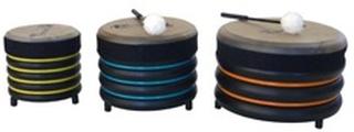 Trommus Håndtrommer skolesæt med 3 trommer (E5u)