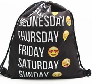 Klassisk Gymnastikpose med Smiley-motiv - #3