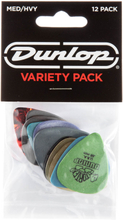 Dunlop Variety Pack Medium/Heavy guitar picks, 12 pcs.