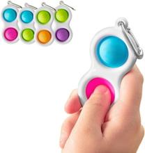 2-pack - Mini Simple Dimple Pop It Fidget Toys - Leksak Tre Bubblor