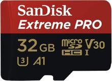 Sandisk Extreme Pro MicroSDHC 32GB R100M/W90 V30 U3 4K