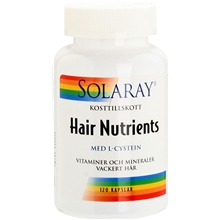 Solaray Hair Nutrients 120 kapselia