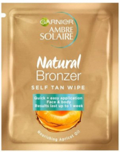 Garnier Natural Bronzer Wipes Self Tan