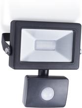 Smartwares LED-projektør med sensor 10 W sort SL1-B10B