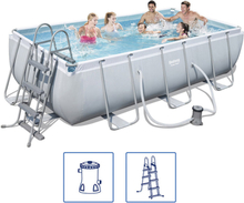 Bestway Power Steel Poolset stålram 404x201x100 cm 56441