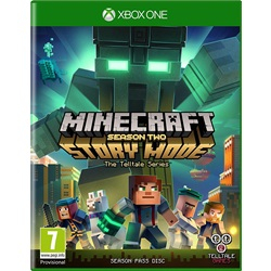 Minecraft Story Mode - Season 2 Pass Disc (Xbox One) - wupti.com