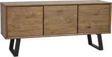 Melville sideboard Brun/svart 160 x 45 cm