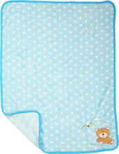 Babyteppe - Blå