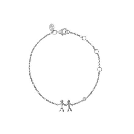 Together - My Love bracelet - silver