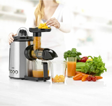 Princess 2-i-1 Slowjuicer Juice Center 150 W silver 202042