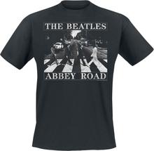 The Beatles - Abbey Road Distressed -T-skjorte - svart