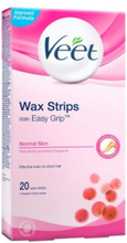Veet Cold Wax Strips Normal 20st