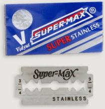 Partaterät SuperMax Super Stainless, 10/pakk.