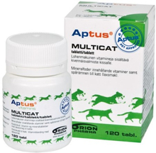 Aptus Multicat Tabletter 120 st