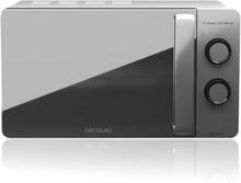 Mikrobølgeovnen med Grill Cecotec ProClean 3160 20 L 700W Sølvfarvet