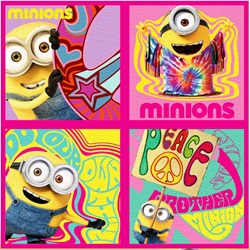 4-Pack Minions Kids Face Towel 30x30cm - wupti.com
