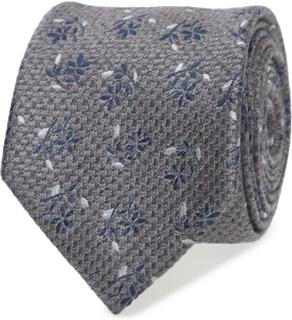 Tie Linen Flower Slips Blå ATLAS DESIGN