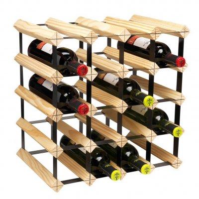 Metro vinställ för 20 st flaskor påbyggnadsbart