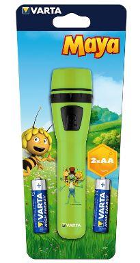 Varta Maija Mehiläinen taskulamppu vihreä