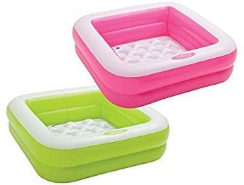 Intex pohjasta pehmustettu uima-allas, pinkki tai vihreä