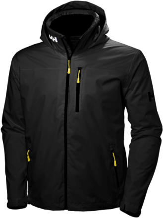 Crew Midlayer Hooded Musta M