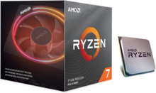 Ryzen 7 3800X Wraith Prism CPU - 8 kerner 3.9 GHz - AM4 - Boxed (PIB - med køler)