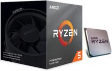 Ryzen 5 3600X Wraith Spire CPU - 6 kerner 3.8 GHz - AM4 - Boxed (PIB - med køler)