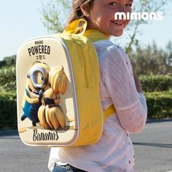 Minion Bananas 3D Skoletaske - wupti.com